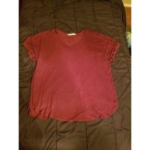 Sparkly Maroon Shirt